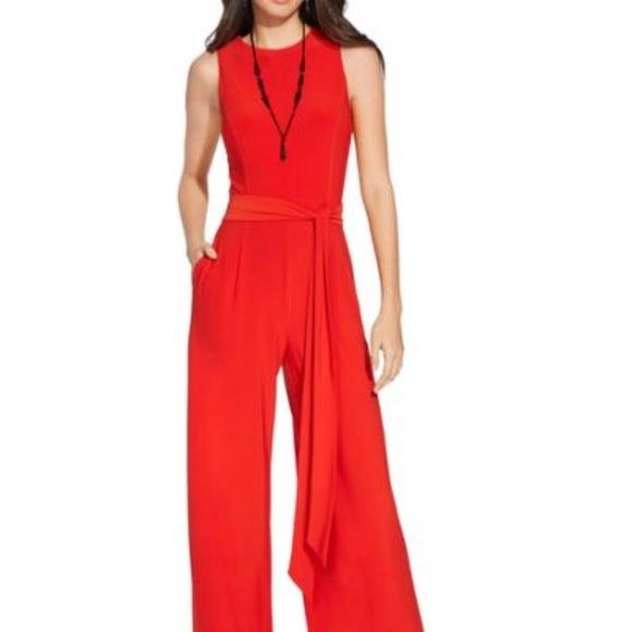 Lauren Ralph Lauren Other Red Jumpsuit Poshmark